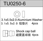 TeamC Big Bore Shock Cap Ball (4)