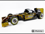 Bittydesign TYPE-6R 1/10 Formula Body