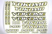 Yokomo Offroad Racing Stickers (Yellow)