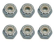 Associated 8-32 Low Profile Locknut, steel (6)