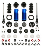 Team Associated 13mm Rear Shock Set  For SC10 4x4 (2)