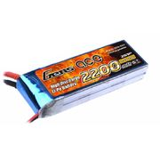 Gens Ace 2200mAh 2s (7,4V) 25C Lipo Battery Pack