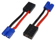 EuroRC EC3 Male - Traxxas Female 14awg 50mm (1)