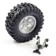 FTX Outback Spare Tyre Mount & Tyre/wheel