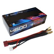 Gens ace 4600mAh RS 60C 2S 7.4V Shorty Lipo