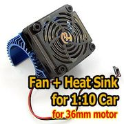 Hobbywing Fan and Heatsink (36mm)