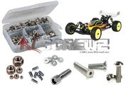 RCScrewZ Stainless Steel Screw Kit - Losi 22-4
