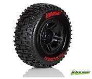 Louise SC - Pioneer SC Tyre With Black Rim For Losi SCTE (Mounted) - Soft - (2)