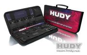 HUDY Complete Set of Set-up Tools + Carrying Bag - For 1/8 On-road Cars