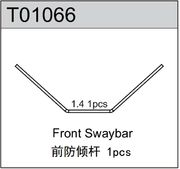 TeamC Front Sway Bar 1.4