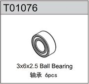 TeamC 3x6x2.5 Ball Bearing (6)