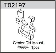 TeamC Center Diff Mount - TM2SC