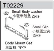TeamC Body Mount Set - TM2SC