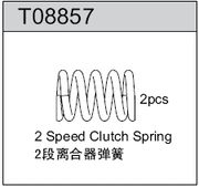 TeamC GT8 2-Speed Clutch Spring with 4mm balls (2)