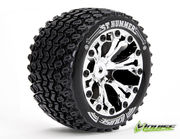 Louise 1:10 ST-Hummer 2.8 inch Truck Tire Mounted on Chrome Rim - Bearing - Soft (2)