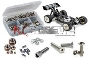 RCScrewZ Stainless Steel Screw Kit - TeamC T8 V3