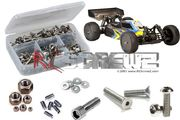 RCScrewZ Stainless Steel Screw Kit - TeamC TM4