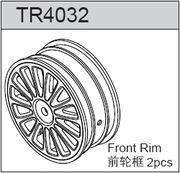 TeamC 4wd Front Rim Yellow (2)
