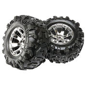 "Traxxas Tires & Wheels Canyon AT/ Geode (17mm) 3,8"" (2)"