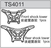 TeamC Front and Rear Shock Tower