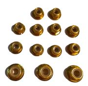 TeamC Aluminium Nuts Set - Gold