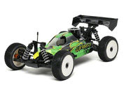 JQ Racing The RTR Car Nitro Green Body