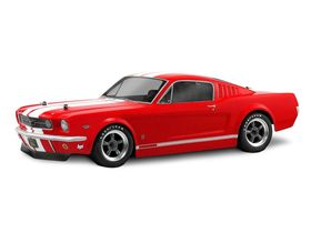 HPI-Racing 1966 Ford Mustang GT Clear Body (200mm)