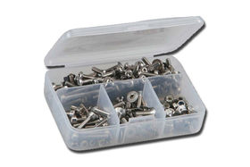 RCScrewZ Stainless Steel Racers 900 Piece Metric Kit for 1:10 Short Course