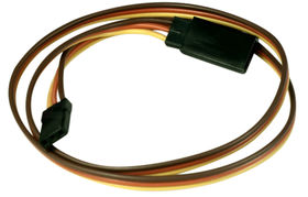 EuroRC JR Straight 22AWG Extension Wire - 45cm