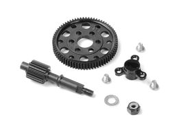 Xray Solid Axle - LCG - Ultra-Lightweight - Set
