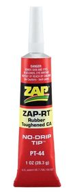 Zap-RT Rubber Toughened CA Glue - 29.5ml  (Strong)