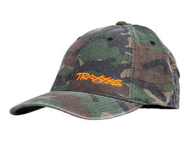 Traxxas Flex Hat Curved Bill Camo Traxxas (S-M)