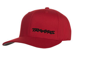 Traxxas Flex Hat Curved Bill Red / Black Traxxas