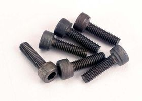 Traxxas Screws M3x10mm Cap-head Hex Socket (6)