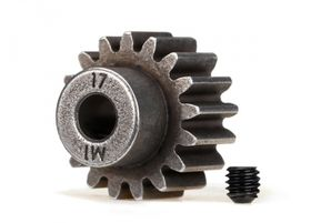 Traxxas Pinion Gear 17T 1.0M Pitch for 5mm shaft