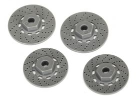 Traxxas Wheel Hubs Hex (disc brake rotors) (4)