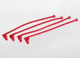 Traxxas Body Clip Retainer - Red (4)