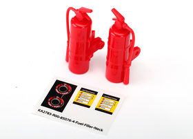 Traxxas UDR Fire Extinguisher (red) (2)