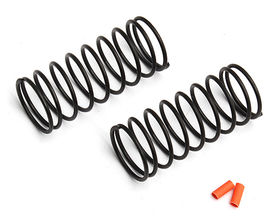 Team Associated 12mm Front Spring Orange 4.05 lb (2)
