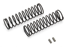 Team Associated 12mm Rear Spring Gray 2.20 lb (2)