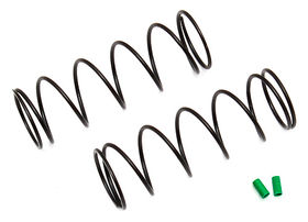 Team Associated 12mm Shock Springs, 54mm, green, 3.75 lb/in