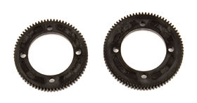 Associated B74 Center Diff Spur Gears 72T & 78T - 48P