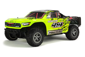 Arrma Senton 4X4 BLX Brushless Short Course Truck Green/Black 1:10 RTR W/o Battery & Charger