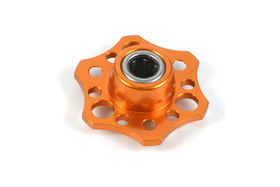 Xray Alu Lightweight Drive Flange W/One-Way B. - Orange
