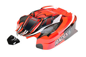 Team Corally Polycarbonate Body Radix XP 6S - Painted - Cut (1)