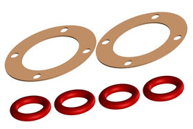 Team Corally Diff Gasket 1 Set