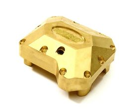 Integy Brass Alloy Differential Cover for Traxxas TRX-4