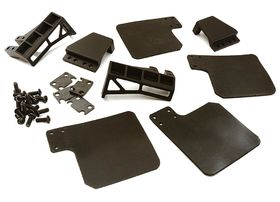 Integy Off-Road Mud Flaps Dirt Guards for Traxxas TRX-4
