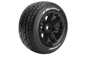 "Louise RC - ST-Rocket 3.8"" - Bead Style Wheel - Black - 0-offset (2)"