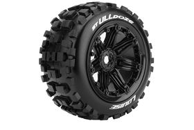 "Louise RC - ST-Ulldoze 3,8"" Bead Style Black 0-Offset - Sport - (2)"